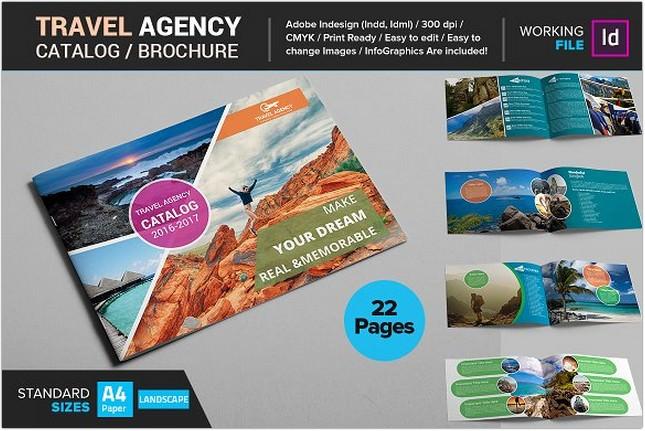 25 Best Travel Agency Brochure Templates Designs Psd Ai Format