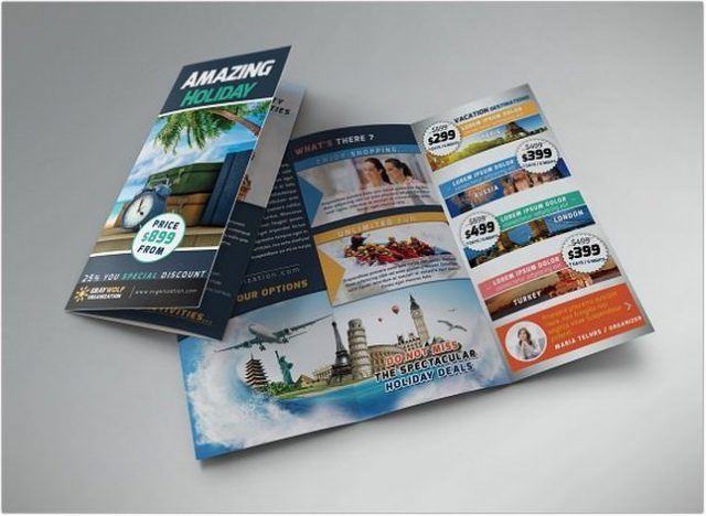 Tour Trifold Brochure