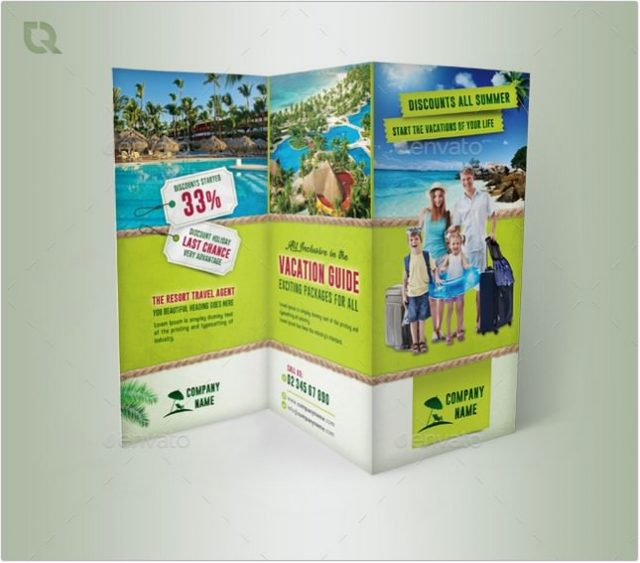 Travel Tourism Trifold
