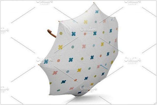 Open  Umbrella classic MockUp