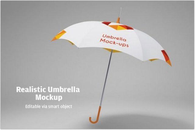 Umbrella Mock-Up psd