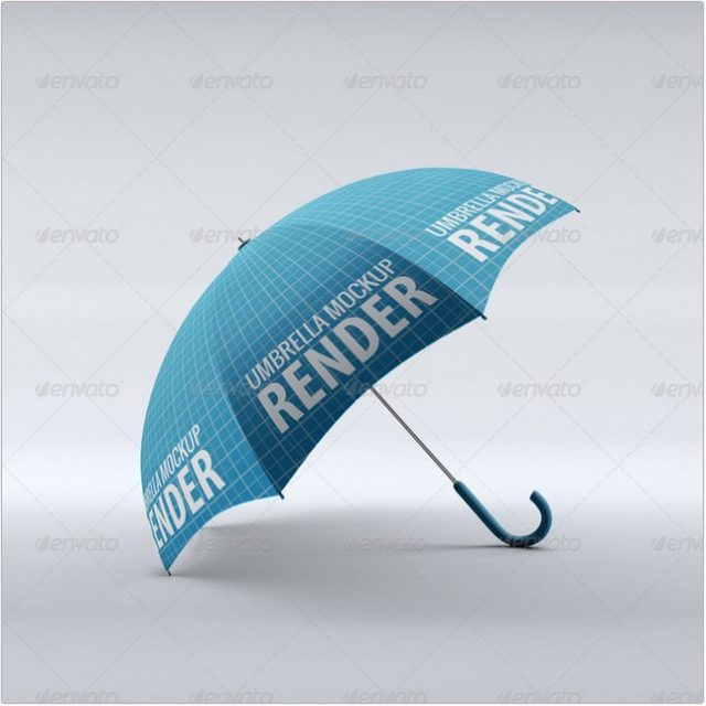 Umbrella with transparent background