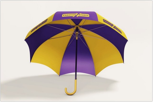 Simple Umbrella MockUp design