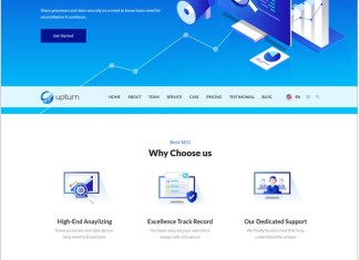 SEO And Digital Marketing Agency Html Template