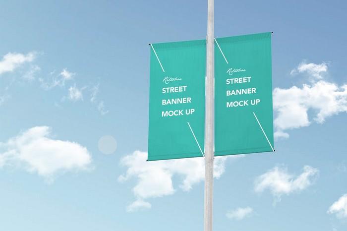 Urban Banner Mock Up