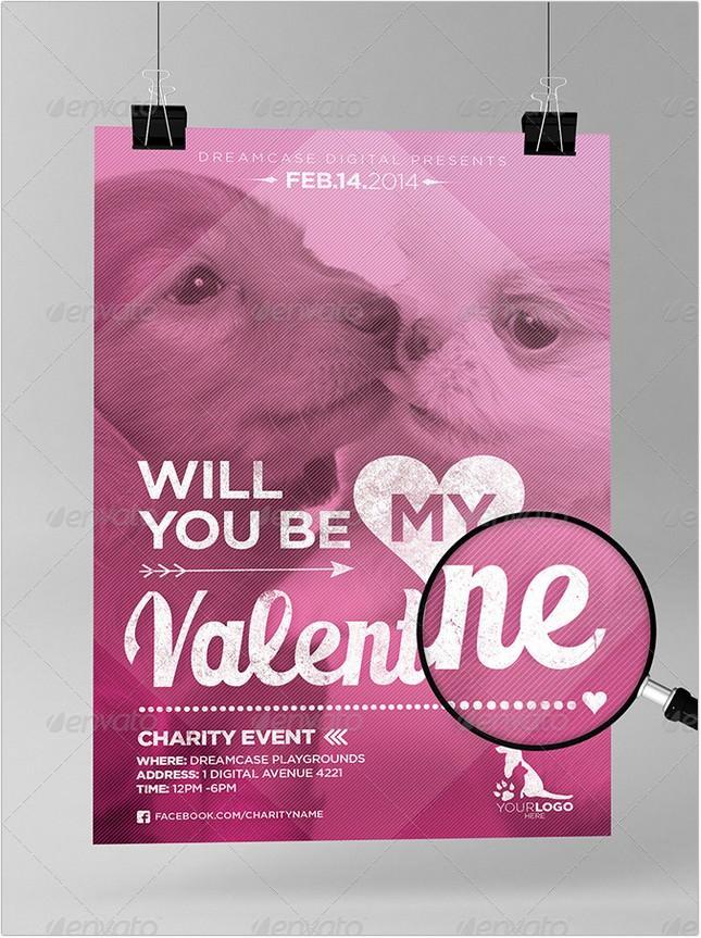 Valentines Animal Flyer