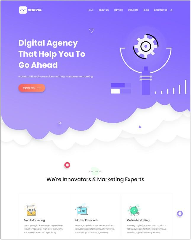 SEO Digital Agency HTML5 Template