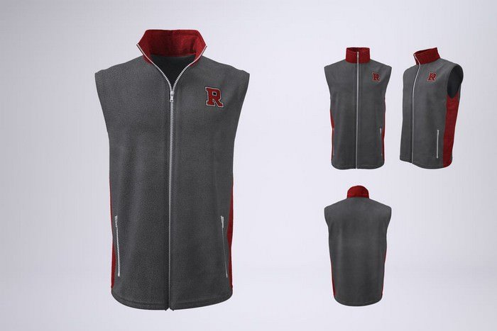 Sleeveless Jacket Mock-Up
