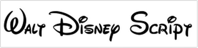 Walt Disney Script free