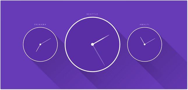 Weekly Pen #1 - Clocks css