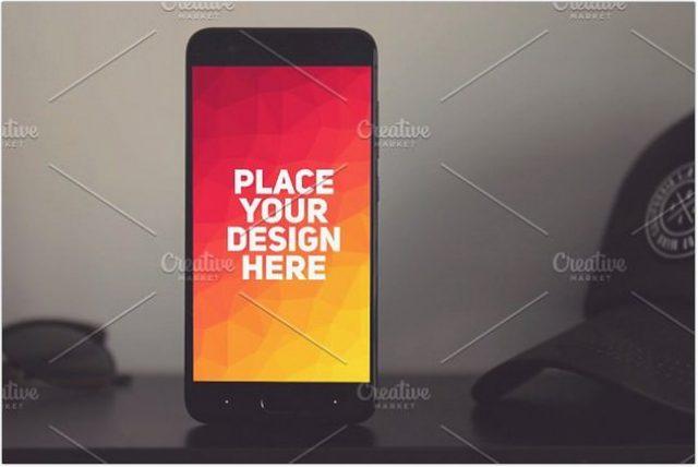 Xiaomi Mi6 Mock-up psd