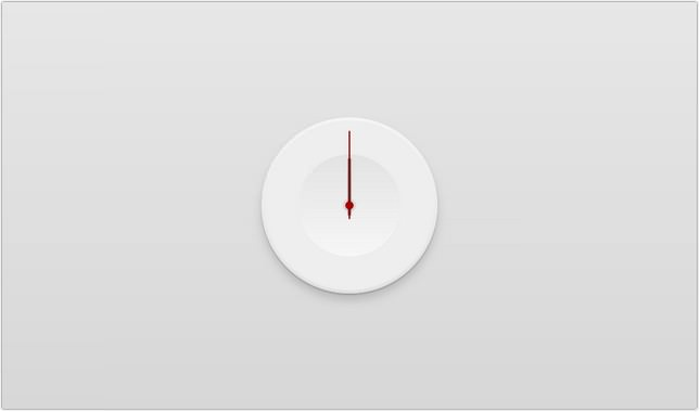 30+ Creative Clocks Created with CSS 2018 - Templatefor