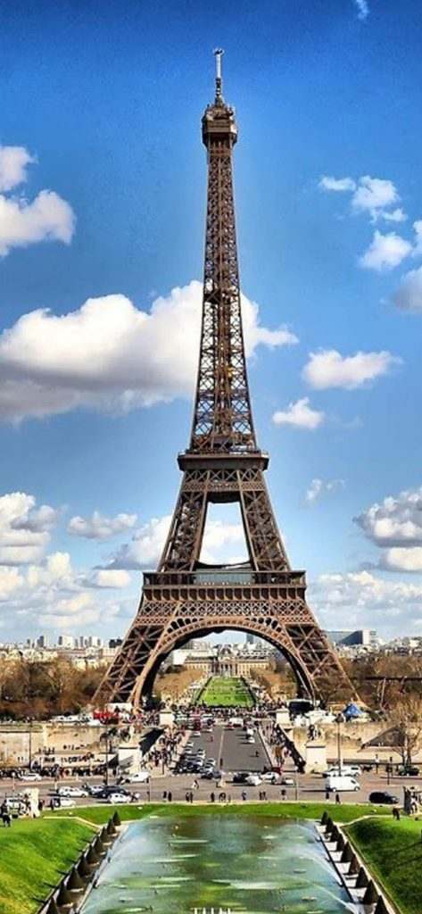 1125 × 2436 eiffel 4k iPhone XS wallpaper