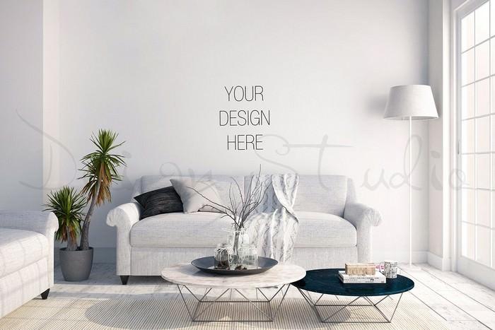 interior PSD, Living Room Photo # 2