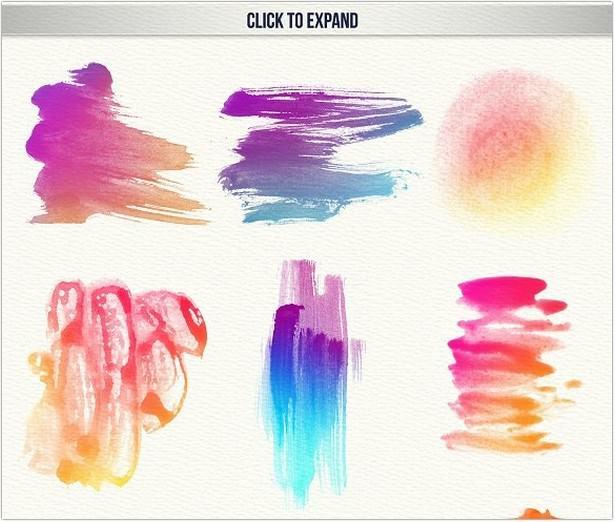 111 Watercolor Brushe