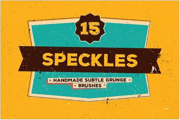 Speckles - Grunge Brushes