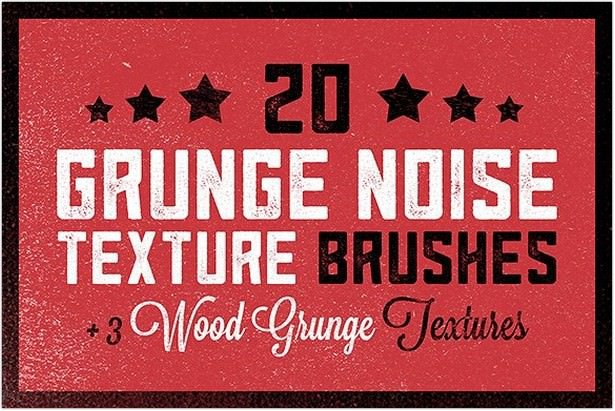 Grunge Noise Texture Brushes