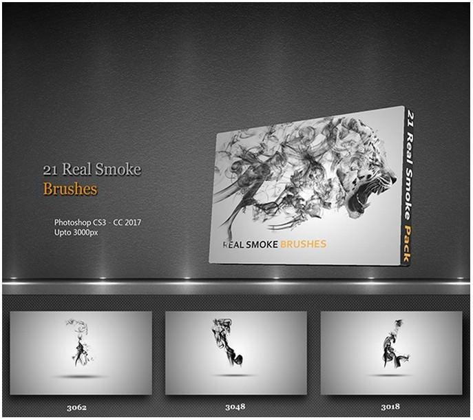 21 Real Smoke Brushes