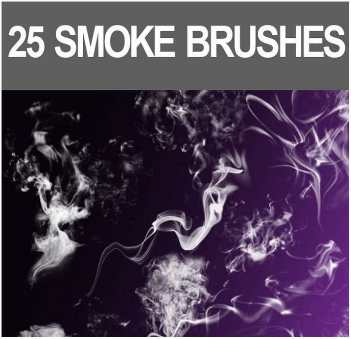 25 Smoke Brushes