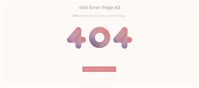 404 Error Example #2