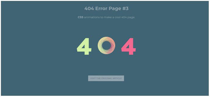 25+ Free Error Page Templates Easy To Customize 2018 - Templatefor