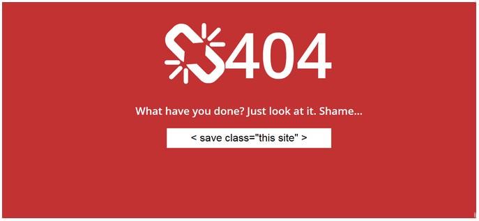 404 Error Template