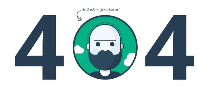 404 Error page - Animated SVG