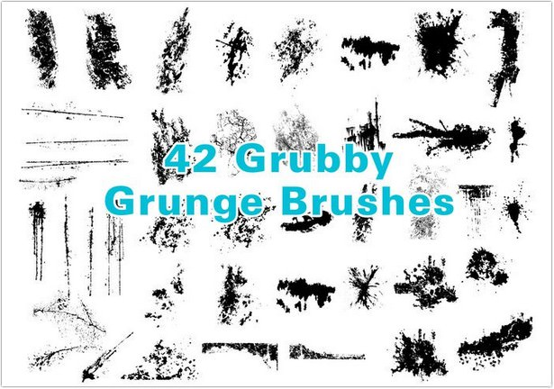 Grubby Grunge Brushes