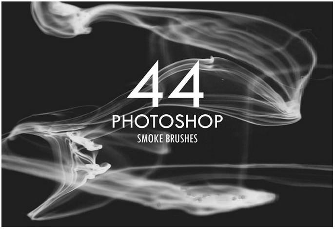 44 Photoshop Smoke Brushes
