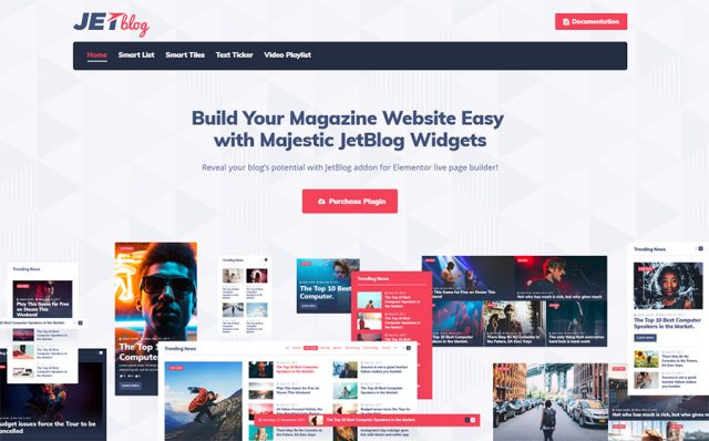 JetBlog Elementor Blogging Package WordPress Plugin