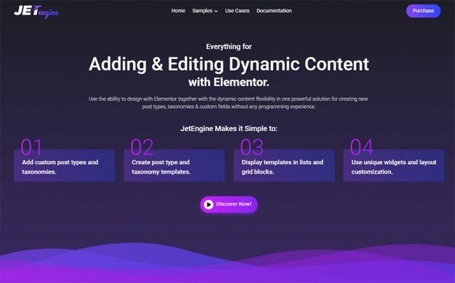 Powerful Elementor Dynamic Content WordPress Plugin