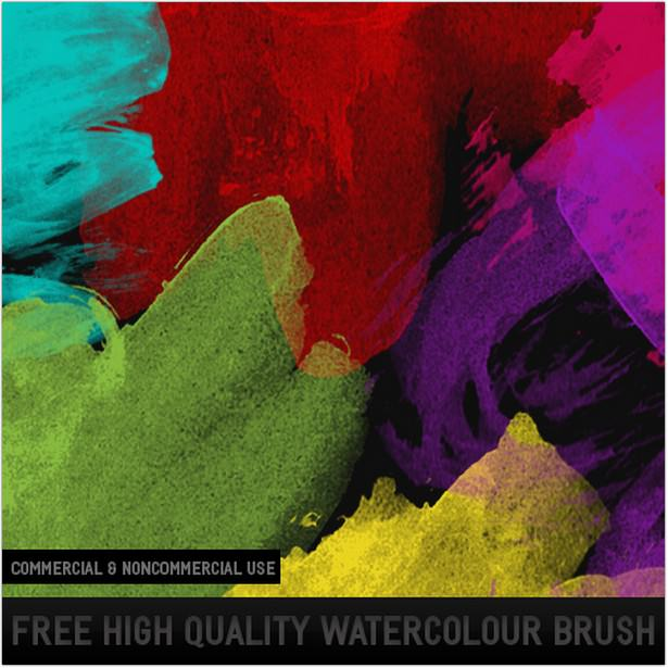 HQ Watercolor Brush