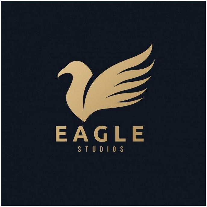 A Golden Eagle Logo