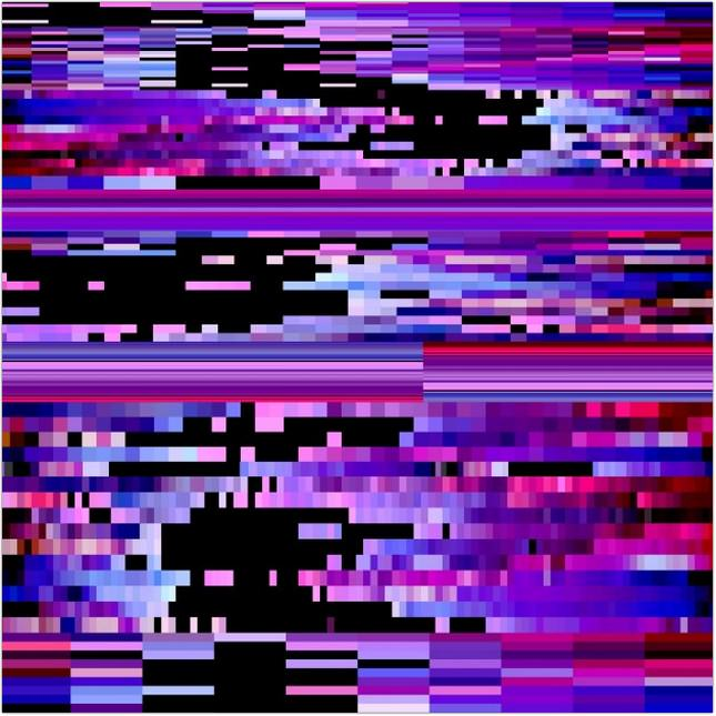 Abstract Glitch Effect