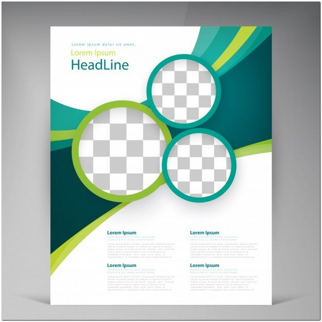 Abstract Template flyer