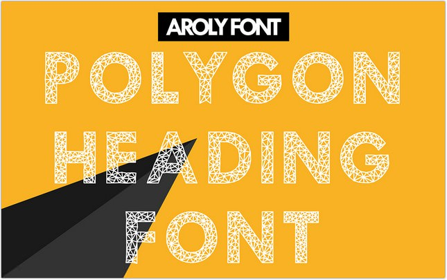 Aroly Free Poster Font