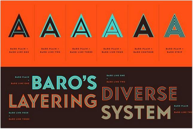 Baro Fonts