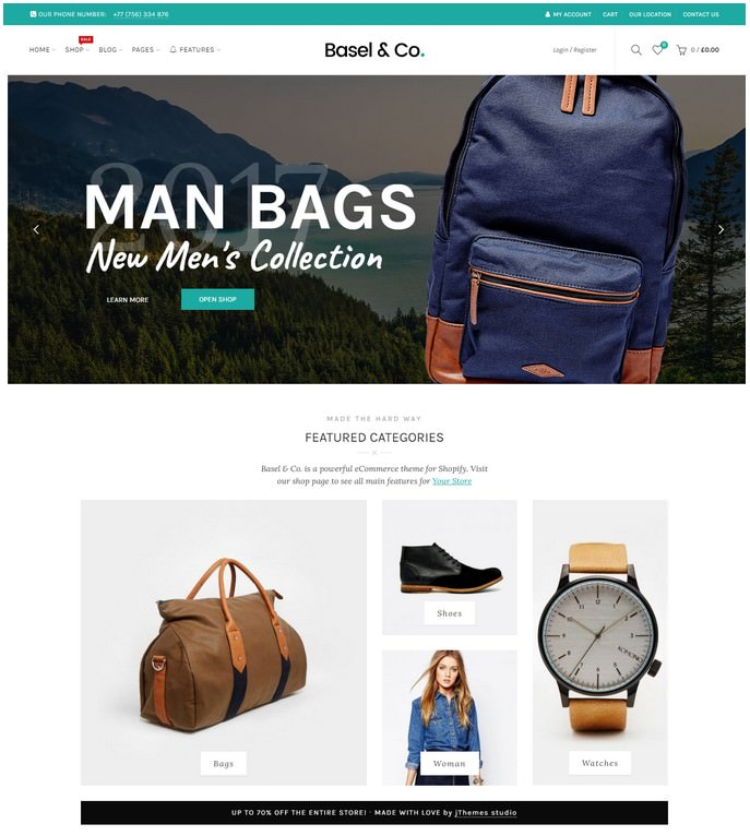 Basel - Responsive eCommerce Shopify Theme