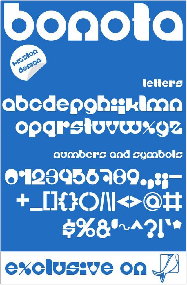 Bonota Premium Font