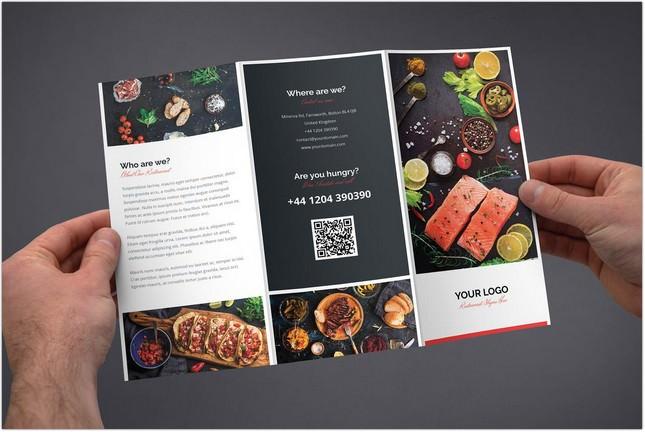 Brochure – Restaurant Tri-Fold