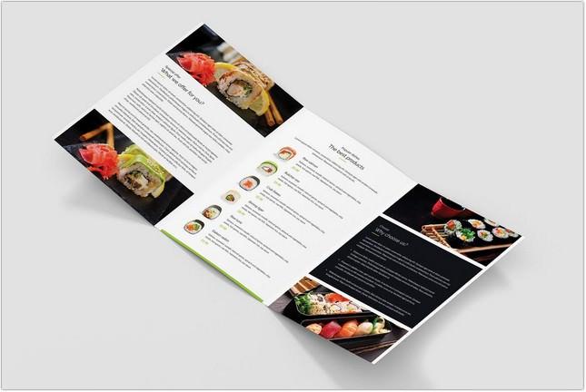 Brochure Restaurant Tri-Fold A5