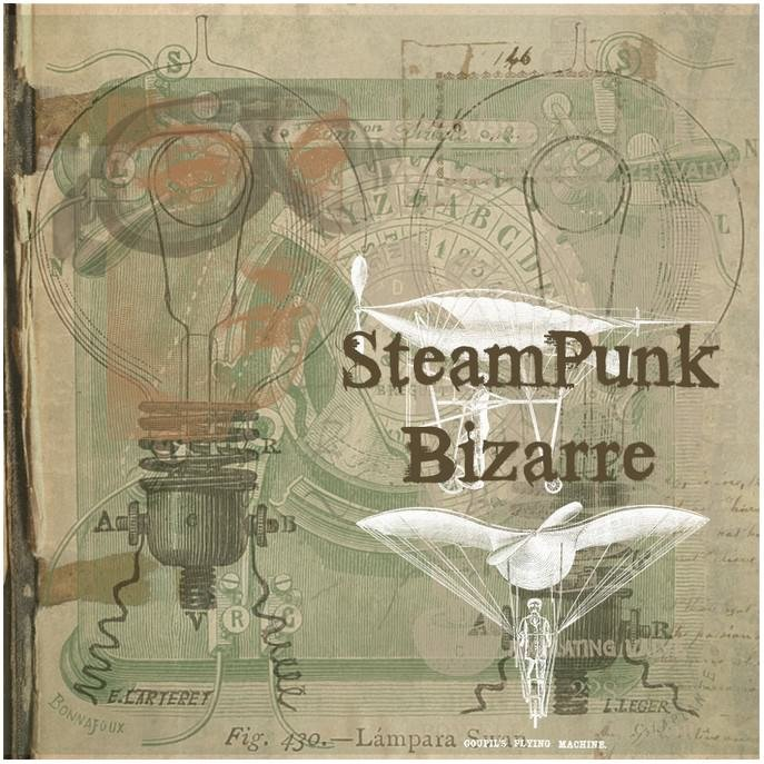 Brushes SteamPunk Bizarre