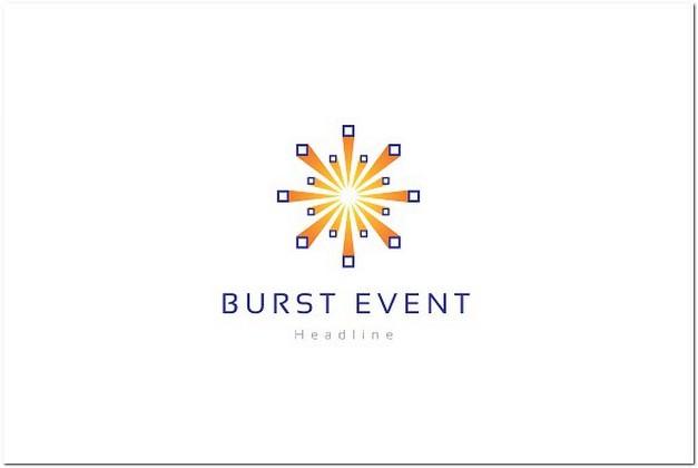 Burst event company logo