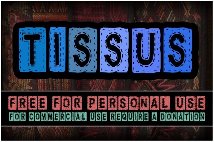 CF Tissus Demo Font