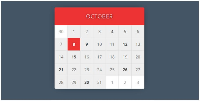 Calendar A Pen By Miro Karilahti