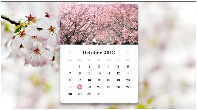 Calendar Daily UI #038