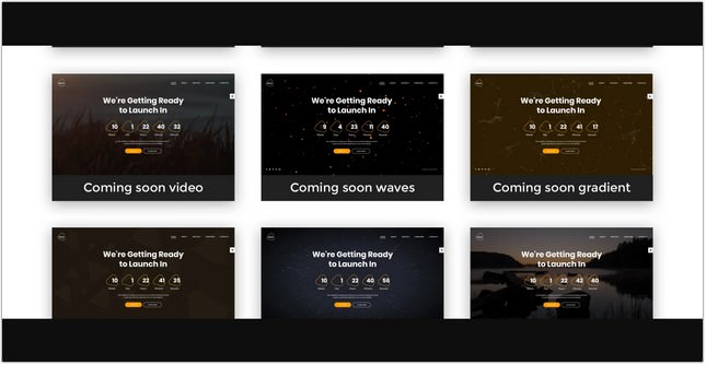 Coming Soon HTML5 Specialty Page