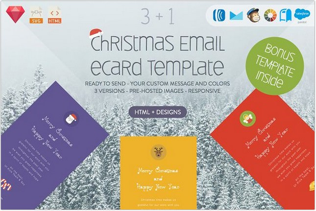 Christmas Email DESIGNS