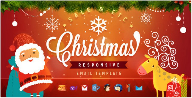 18 Best Christmas Email Templates For Marketing Templatefor