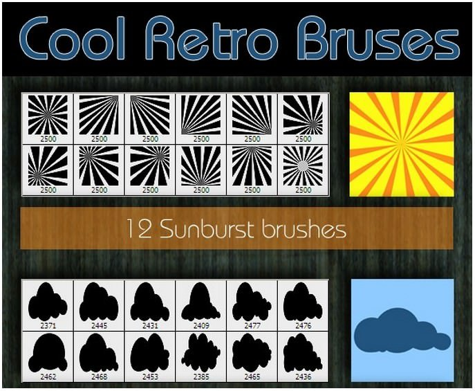 Cool Retro Brushes